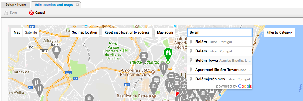 How Can I Manage My Location And Maps Guestcentric Support Page