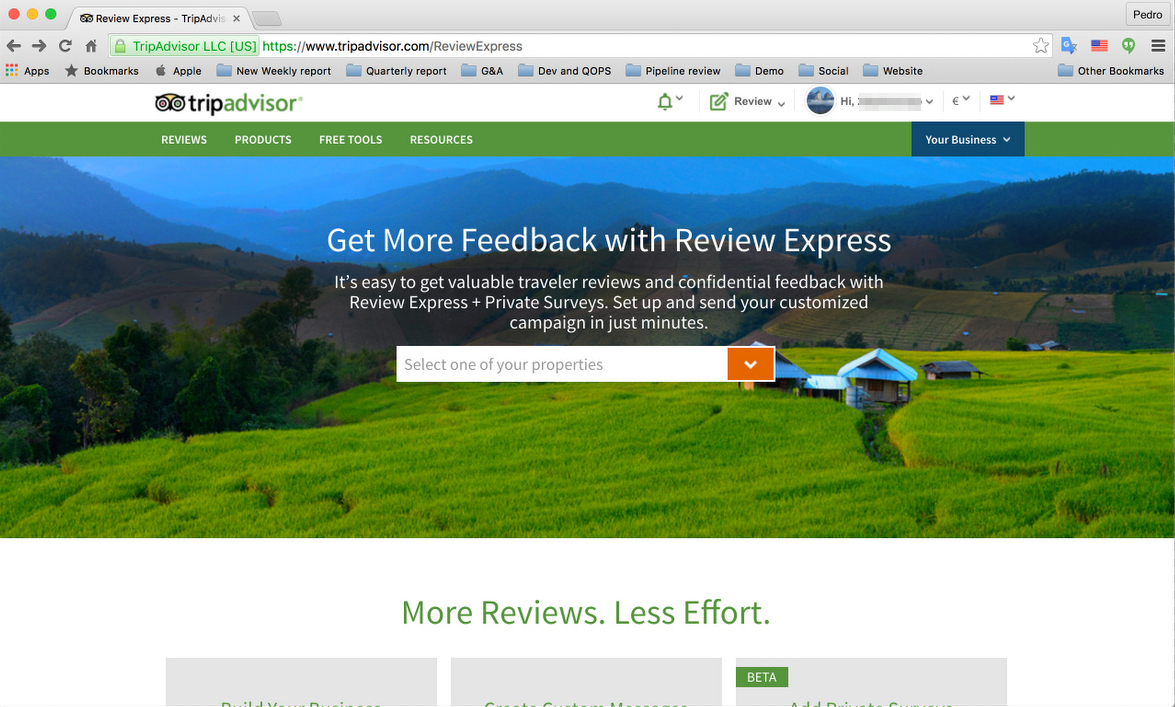 STEP 1 Go To The Tripadvisor Review Page And Login With Your Account